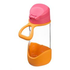 Sportowa butelka tritanowa 450 ml, Strawberry Shake, b.box