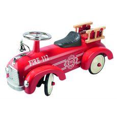 Auto do odpychania nóżkami - Jeździk Retro Straż pożarna Goki