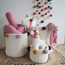 Poduszka wąż 120 cm, różowa, Kikadu