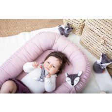 Gniazdko niemowlęce, różowe, Kikadu