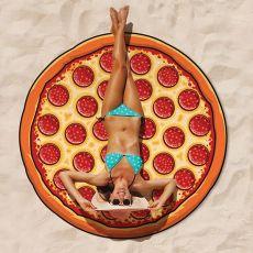 Koc plażowy pizza