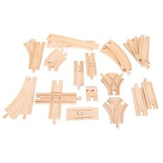 Zestaw Torów do drewnianych kolejek (rozszerzenie)