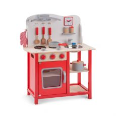 Drewniana Kuchnia Do Zabawy I Wyposażenie Drewnianej Kuchni