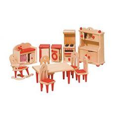 Wyposażenie domków - Kuchnia czerwona