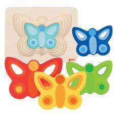 Układanka motylek