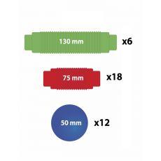 Duże klocki magnetyczne