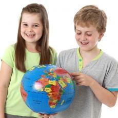 Mała piłka globus 30cm