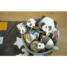 Kosze na dziecięce akcesoria 3 szt., Panda, Kikadu