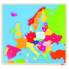 Puzzle: mapa Europy