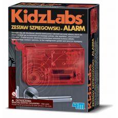 Zestaw szpiegowski – alarm