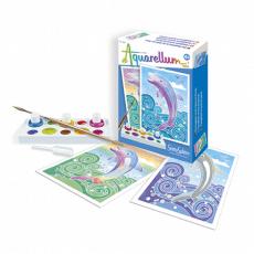 Akwarele delfiny mini