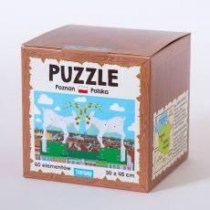 Puzzle Poznańskie koziołki