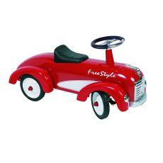 Jeździk auto do odpychania nóżkami - Goki Freestyle Czerwone
