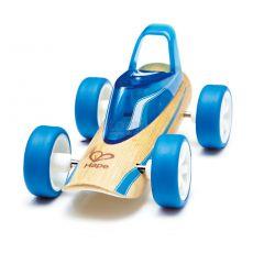 Auto Błękitna wyścigówka