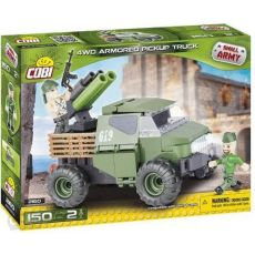 Small Army 4WD Armored Pickup Truck 145 klocków