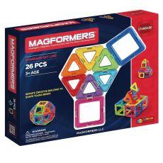 Klocki magnetyczne 26 elementów