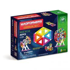 Klocki magnetyczne 46 elementów