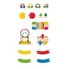 Kolejka dla  dzieci - zestaw dźwiękowy