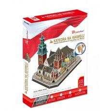 Puzzle 3D: Katedra na Wawelu