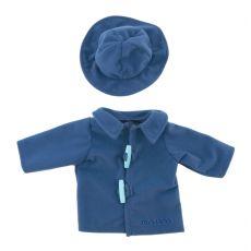 Ubranka dla lalki - Płaszczyk z kapeluszem