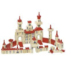Zamek z klocków
