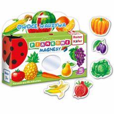 Mój Mały Świat Magnesów Owoce, Warzywa