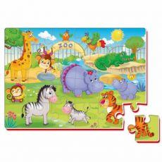 Piankowe puzzle Zoo
