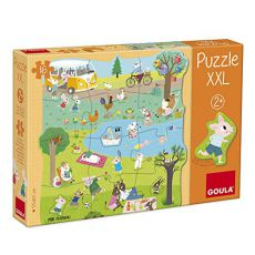 Puzzle XXL dzień na wsi