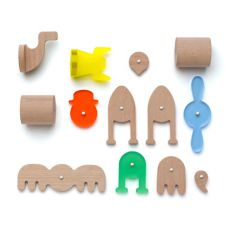 Konstrukcyjne klocki magnetyczne Fauna