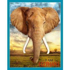 Puzzle I AM ELEFANT - Słoń