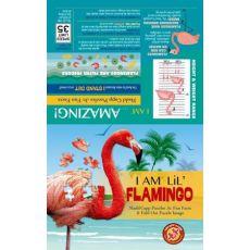 Puzzle I AM LIL' - FLAMINGO - Flaming