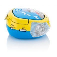 Radio z CD i mikrofonem dla dzieci żółte GOGEN
