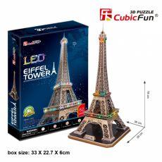 Puzzle 3D Wieża Eiffla Zestaw XL 82 elementy