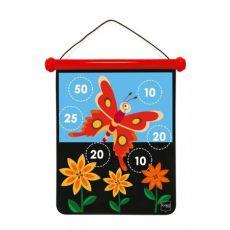 Rzutki magnetyczne kwiatek i motylek