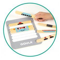 Gra edukacyjna - układanka robot