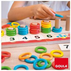 Gra matematyczna - kolorowe pierścionki