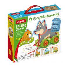 Wiązanka, sznurowanka zwierzątka Montessori