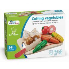 Drewniane warzywa do krojenia 8 szt.