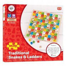 Gra drewniana węże i drabiny