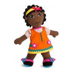Lalka sensoryczna Miniland - dziewczynka afrykanka