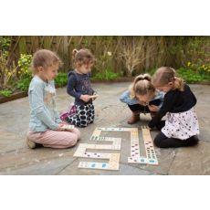 Domino drewniane Zwierzątka