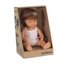 Lalka Miniland Rudowłosy Chłopiec
