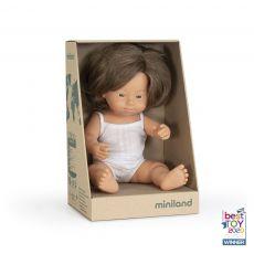 Lalka Miniland Europejska dziewczynka z Zespołem Downa