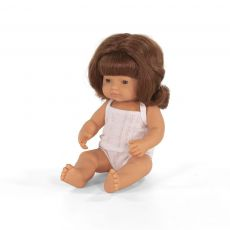 Lalka Miniland Rudowłosa Dziewczynka