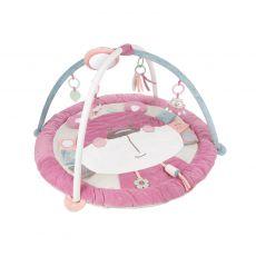 Edukacyjna mata do zabawy 0+ Pastel Friends Canpol Babies - różowa