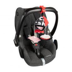 Canpol babies kontrastowa karuzelka podróżna do wózka i fotelika Sensory Toys