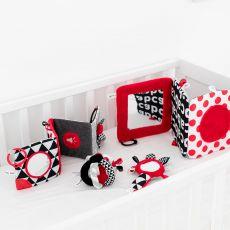 Lusterko kontrastowe książeczka Sensory Toys Canpol Babies