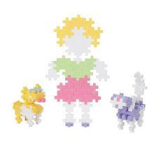 Plus-Plus, Midi Pastel - 150 szt. - Dziewczynka i Zwierzątka