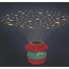 Scratch, Nocna Lampka Ogród z Projektorem