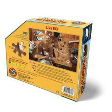 MADD CAPP,  Puzzle konturowe I AM LIL' - Mamut 100 elem.